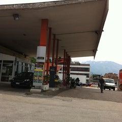 Photo taken at Distributore Agip by Daniel Cerami S. on 5/18/2012