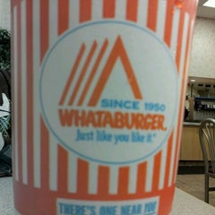 Photo taken at Whataburger by Brad S. on 2/20/2012