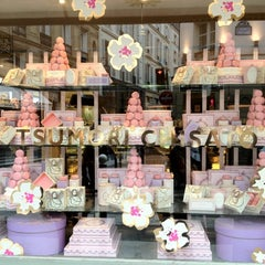 Photo taken at Ladurée by Quinn C. on 3/10/2012