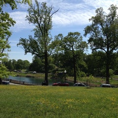 Photo taken at Druid Hill Park by Kelly M. on 4/29/2012