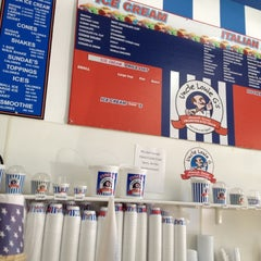 Photo taken at Uncle Louie G's Italian Ices & Ice Cream by Donfico on 6/28/2012