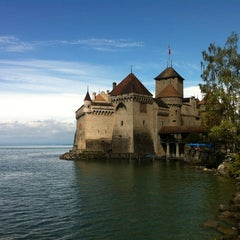 Photo taken at Château de Chillon by Mike H. on 9/2/2012