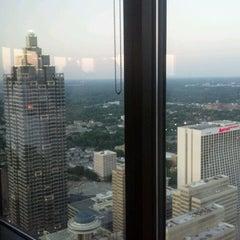Photo taken at Sun Dial Restaurant, Bar & View by Joshua G. on 5/10/2012