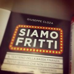 Photo taken at Feltrinelli by Riccardo S. on 8/19/2012