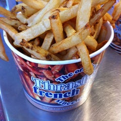Photo taken at Thrasher's French Fries by Bill on 9/1/2012