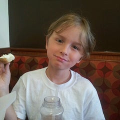 Photo taken at Bruegger's by Angie K. on 6/8/2012
