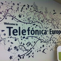 Photo taken at Telefónica Europe by Jorge A. on 8/30/2012
