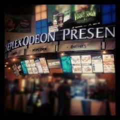 Photo taken at Cineplex Odeon Queensway Cinemas by Lada on 8/1/2012