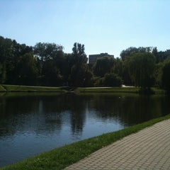 Photo taken at Park Moczydło by Michał on 8/19/2012