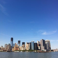 Photo taken at Staten Island Ferry Boat - Spirit Of America by Takeshi on 5/20/2012