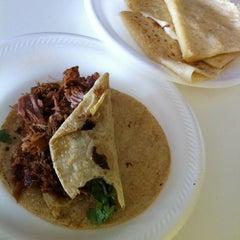 Photo taken at Carnitas Las Michoacanas by Cindy B. on 7/23/2012