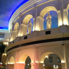 Photo taken at Caesars Atlantic City Hotel and Casino by Nathan N. on 4/10/2012