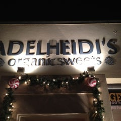 Photo taken at Adelheidi's Organic Sweets by Vance I. on 12/30/2011