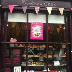 Photo taken at Konditor & Cook Ltd by Linda H. on 4/15/2011