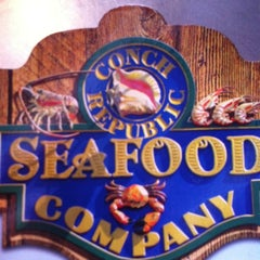 Photo taken at Conch Republic Seafood Company by Ashley C. on 9/4/2011