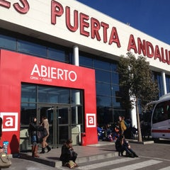 Photo taken at Abades Puerta de Andalucía by Andres G. on 2/25/2012