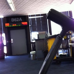 Photo taken at Gate B62A by Sereita C. on 9/25/2011