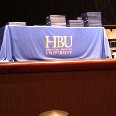 Photo taken at Houston Baptist University by ::biRacIal b. on 8/13/2011