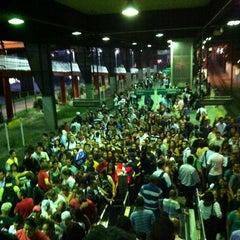 Photo taken at Estação Santo Amaro (CPTM) by Aline Nepomuceno on 3/5/2012