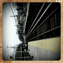 Photo taken at LIRR - Nassau Blvd Station by Catalina L. on 12/7/2011