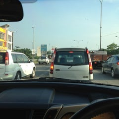 Photo taken at Traffic Light Jalan Salleh by Law J. on 3/16/2012