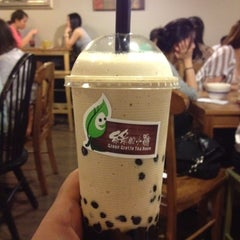 Photo taken at Green Grotto Tea Room 綠的小窩 by Neil W. on 7/15/2012