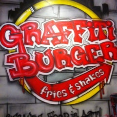 Photo taken at Graffiti Burger by Crystal D. on 2/18/2012