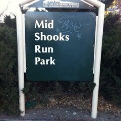 Photo taken at mid shooks run park by Tater Z. on 12/30/2010