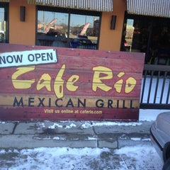 Photo taken at Cafe Rio Mexican Grill by Greg B. on 2/26/2012