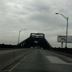 Photo taken at General Pulaski Skyway by Tony F. on 5/30/2012