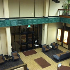 Photo taken at Norris Medical Library (NML) by Dre V. on 10/8/2011