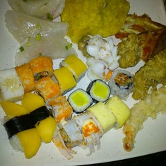 Photo taken at YakiMix Sushi & Smokeless Grill by Sarah F. on 2/17/2012