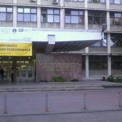 Photo taken at Universitatea de Vest by Stefan L. on 4/26/2012