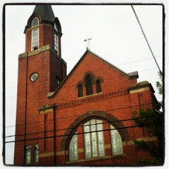 Photo taken at St. Mary's Church by Ryan P. on 7/19/2012