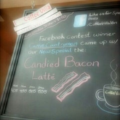 Photo taken at Coffee Villa by Carrie C. on 4/16/2012