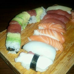 Photo taken at Cherin Sushi by Mike W. on 10/15/2011