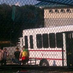 Photo taken at Clarks Bridge Park Boat Ramp by Kela M. on 3/16/2012