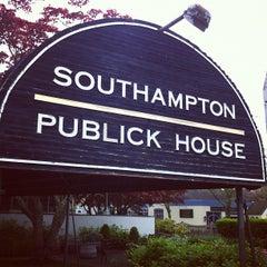 Photo taken at Southampton Publick House by Greg A. on 5/5/2012