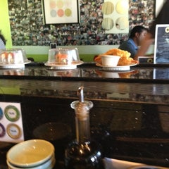 Photo taken at Sushi Eye in Motion by Peter T. on 6/9/2012