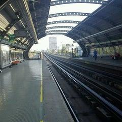 Photo taken at Metro Camino Agrícola by Marco M. on 1/21/2012