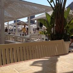 Photo taken at La Spiaggia Beach by Alexander on 8/14/2012