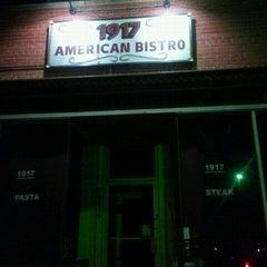 Photo taken at 1917 American Bistro by Karen F. on 11/14/2011