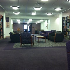 Photo taken at Earl Gregg Swem Library by Caitlin D. on 7/25/2011