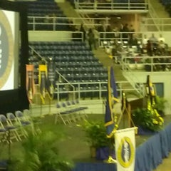Photo taken at Burton Coliseum by Frances S. on 12/17/2011