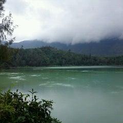 Photo taken at Dieng Plateau by Atik I. on 12/17/2011