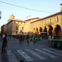 Photo taken at Piazza Verdi by Marco C. on 9/7/2012