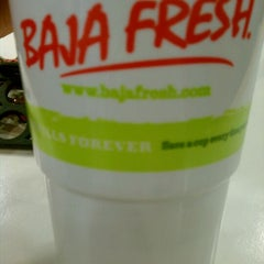 Photo taken at Baja Fresh by Neesa M. on 11/6/2011