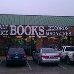 Photo taken at Half Price Books by Chris on 12/10/2011