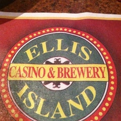 Photo taken at Ellis Island Casino & Brewery by Mickey G. on 1/30/2012