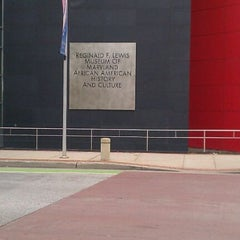 Photo taken at Reginald F. Lewis Museum of Maryland African American History and Culture by Tiffany C. on 10/1/2011